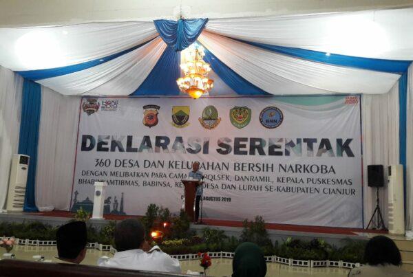Deklarasi Serentak Desa dan Kelurahan Bersih Bersinar