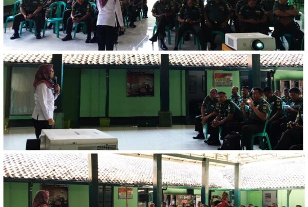 Sosialisasi P4GN di KODIM 0611 Garut Bersama Anggota BABINSA