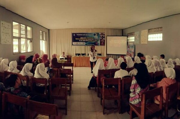 Sosialisasi P4GN di Lingkungan Pendidikan SMP IT Al-Muawanah Cigedug Cikajang Garut