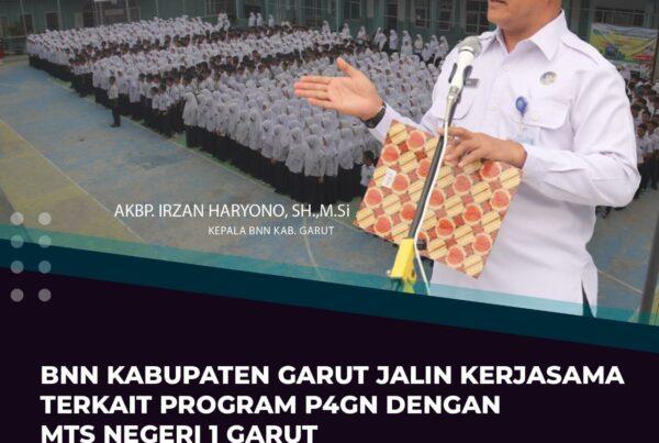 Kerjasama Terkait Program P4GN Dengan MTs Negeri 1 Garut