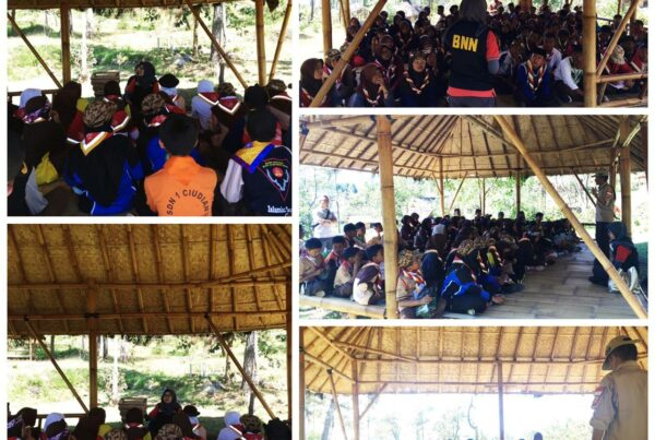 Sosialisasi P4GN di Kegiatan Jambore Kwarcab Garut