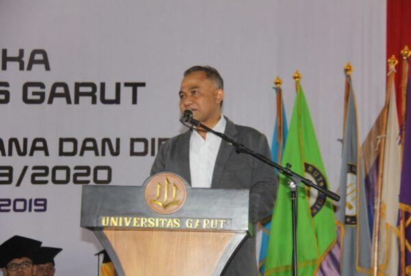 Orasi Ilmiah Kepala BNN RI Komjen Pol. Drs. Heru Winarko, S.H. di Universitas Garut Sekaligus Launching Kampus Bersinar