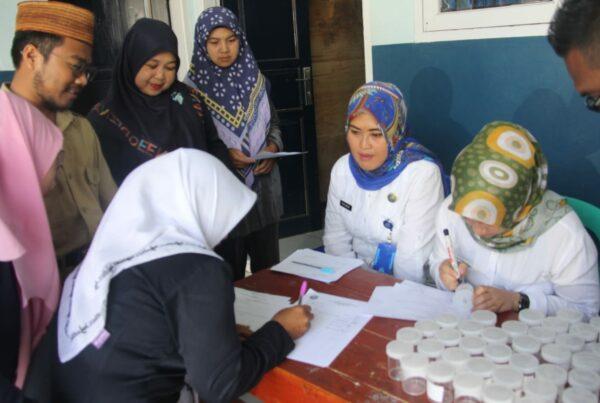 Pemberdayaan Masyarakat Anti Narkoba di Lingkungan Pendidikan (Madrasah Tsanawiyah NURUL AMIN Cilawu Garut) melalui Test Urine