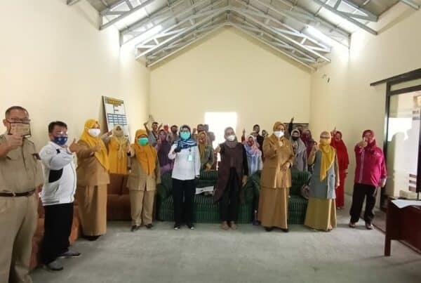 Sosialisasi Bahaya Narkoba dalam Rangka Pembinaan Desa Siaga Bersama Dinas Kesehatan Kabupaten Garut