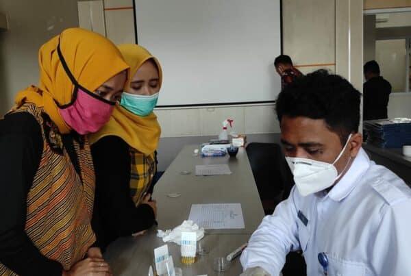 BNNK Garut Tes Urine Di Lingkungan Pendidikan Perguruan Tinggi IPI Garut