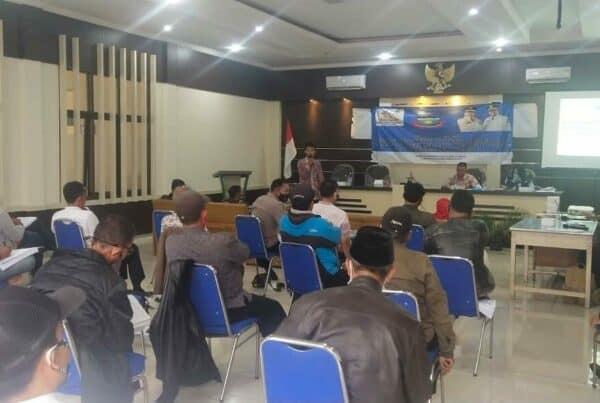 BNNK Garut Laksanakan Sosialisasi Pembuatan SKHPN di Kecamatan Cibatu