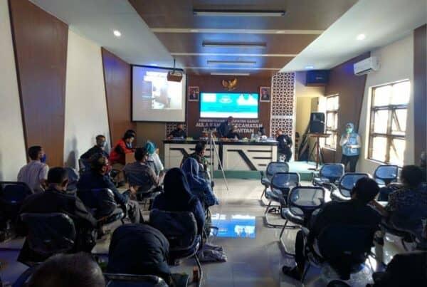 BNNK Garut Sosialisasikan Pembuatan SKHPN untuk Pilkades Serentak Kabupaten Garut Tahun 2021