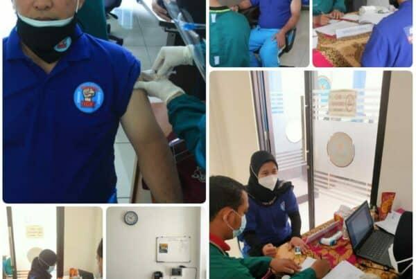 Dukung Indonesia Sehat , BNNK Garut Menggelar Vaksinasi Covid-19