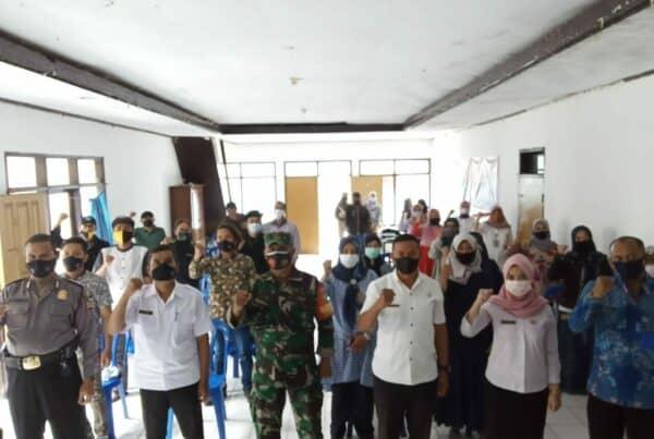 Kegiatan Diseminasi Informasi Melalui Insert Konten di Kelurahan Kota Kulon