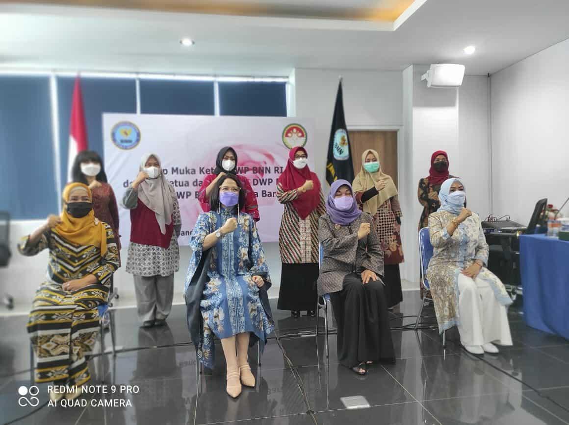 Sinergitas DWP BNN RI , BNNP Jawa Barat dan BNNK/Kota se Jawa Barat dalam Mendukung Kinerja dan Program BNN RI