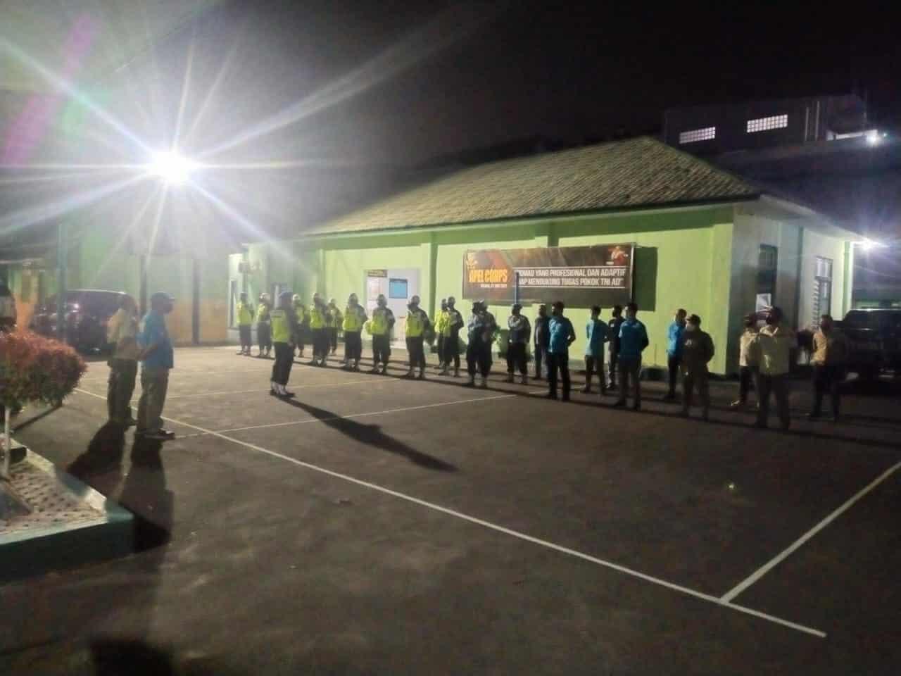Operasi Gabungan Gaktib Polisi Militer Waspada Wira Kujang