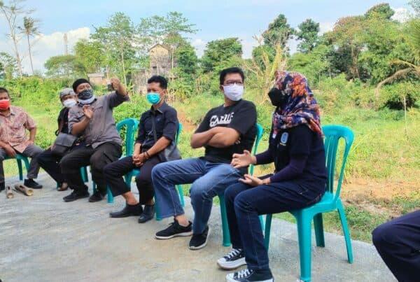 BNNK Garut Hadiri Ngobrol Bareng Komunitas Sekolah Sungai Cimanuk