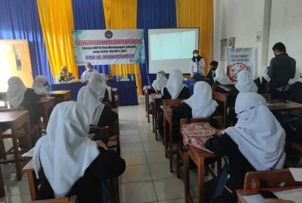 BNNK Garut adakan Sosialisasi Bahaya NAFZA di Yayasan Widya Kusuma SMK Al-Madani Garut